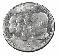 100 Francs - Belgique - 1951 - Argent - TTB - - 1945-1951: Régence