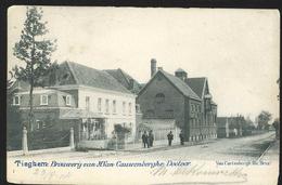 +++ CPA - TIEGEM - TIEGHEM - Brouwerij Van M.Van Cauwenberghe , Doctoor - Brasserie  // - Anzegem
