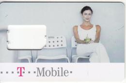 CZECH REPUBLIC - Girl, T Telecom GSM, Used - Tchéquie