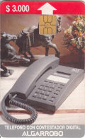 CHILE - Telephone, Algarrobo, Tirage 5000, 08/95, Used - Chile
