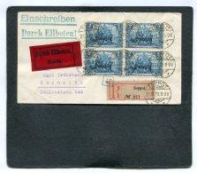 Deutsches Reich Danzig R Cover Eilboten 1920 - Germany