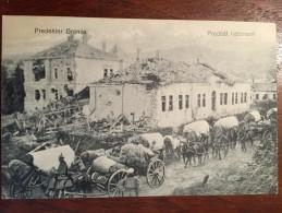 Romania - Predeal / Granita Din Predeal WW I / Stampila K.u.k.1 Armee Commando... - Roumanie