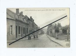 CPA Rétrécit -  Le Cateau Après Guerre 1914-19191 - Rue De La République - Le Cateau