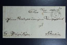 Poland: Letter 1844 Inowraclar Double Line Cancel To Schubin Szubin - Polen