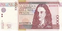 BILLETE DE COLOMBIA DE 10000 PESOS DEL AÑO 2006  (BANKNOTE) - Colombia