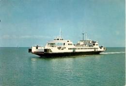 CPA-1975-17-RE-BAC-L AUNISIEN-entre LaPALLICE ILE De RE-TBE - Barche