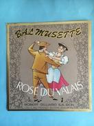 1861 -  Suisse Valais Le Bal Musette Rosé - Musique
