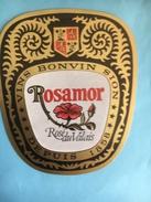 1864 -  Suisse Valais Rosamor Rosé 2 étiquettes 2 Formats - Etiquettes