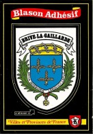 CARTE -AUTOCOLLANT-ECUSSON ADHESIF-Edit BOS-BRIVE La GAILLARDE-TBE - Autocollants