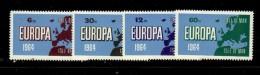 CALF OF MAN 1964  EUROPA CEPT  MNH - 1964