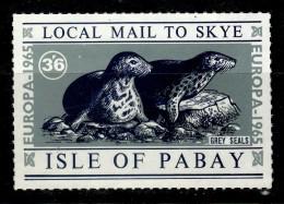 ISLE OF PABAY 1965 EUROPA CEPT MS  MNH - 1965