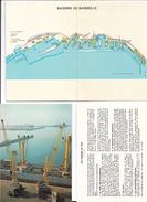 FRANCE (13) - Rapport  De Présentation Technique ,coommerciale... Sur : Le Port Autonome De MARSEILLE - 1975 . - Travaux Publics