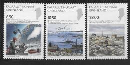 Groënland 2008 N° 495/497 Neufs Sciences - Unused Stamps