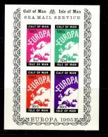 CALF OF MAN 1965 EUROPA  MS MNH - 1965