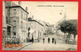 Fontenay En Parisis - Rue De La Chaise - Militaires - Soldats  - 95 Val D'Oise - Autres Communes