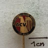 Badge (Pin) ZN002938 - Automobile (Car) ACV Automobil-Club Verkehr E.V. - Badges