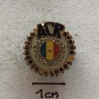Badge (Pin) ZN002940 - Automobile (Car) ACR Automobil Clubul Român - Unclassified
