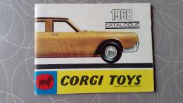 Corgi Catalogus 1968 Franstalig - Catálogos