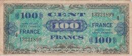 Ww2 - 1944  Billet De 100 Francs De La Libération Usagé Mais Très Propre Scan Recto-verso - 1871-1952 Anciens Francs Circulés Au XXème