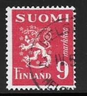 Finland, Scott # 272 Used Arms, 1948 - Finland