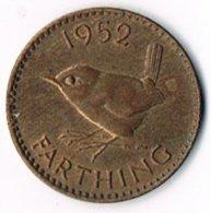 United Kingdom 1952 ¼d - 1902-1971 : Post-Victorian Coins