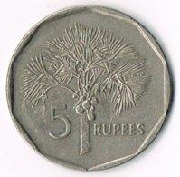 Seychelles 1997 5 Rupees - Seychelles