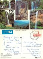 Waterfalls, Sabie Area, South Africa Postcard Posted 1982 Stamp - Südafrika