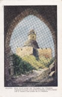 SYRIE---ALEPPO--vue à Travers Une Arche De La Citadelle--voir 2 Scans - Syria
