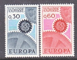 FRENCH  ANDORRA  174-5   **   EUROPA - French Andorra