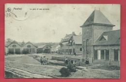 Manhay - La Gare Et Ses Annexes - 1910 ( Voir Verso ) - Manhay