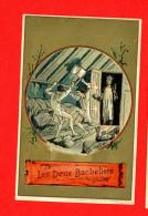 Chromo Lith. Vieillemard, Fables La Fontaine, Les Deux Bacheliers - Other