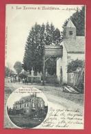Assenois - Carte Postale 2 Vues - L´Ancienne église Et Le Château - 1905  ( Voir Verso ) - Vaux-sur-Sûre