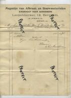 Berchem : Magazijn Van Afbraak En Bouwmaterialen , Eikenhout Voor Aannemers ...........      ( Zie Scan ) - Belgique