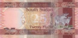 SOUTH SUDAN 25 Pounds ND (2011) P 8 UNC - Soudan Du Sud