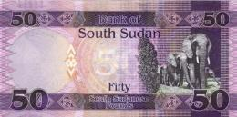SOUTH SUDAN 50 Pounds 2015 P 9 B UNC - Sudán Del Sur