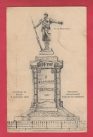 Roisin - Le Monument ... D'après Croquis, élevé Le 17 Septembre 1922 ( Voir Verso ) - Honnelles