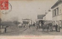 ISLES LES VILLENOY -77- GRANDE RUE - ATTELAGE - Autres Communes