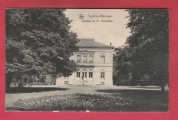 Fayt-lez-Manage - Château De Mr Duchateau - 1914 ( Voir Verso ) - Manage