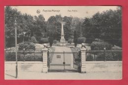 Fayt-lez-Manage - Parc Public - 1914 ( Voir Verso ) - Manage