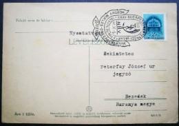 HUNGARY - MAGYAROR. - HORTHY MIKLOS  VASAR - 1940 - DAR