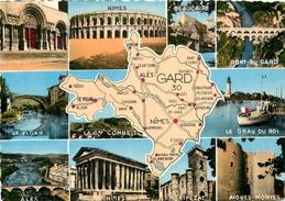 CPSM Carte Multivues Du Gard      L2230 - France