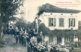 Pibrac ( Pélerinage De Ste Germaine) - Défilé Procession Dans Le Village - Pibrac