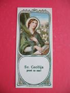 Sv.Cecilija Prosi Za Nas!Spomin Zlate Sv.mase Tomaz Kajdiz-Brezje - Images Religieuses