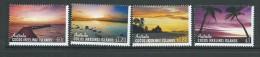 Cocos Keeling Island 2012 Sunrise & Sunset Set Of 4 MNH - Cocos (Keeling) Islands