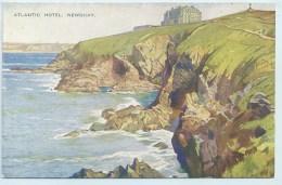 Newquay - Atlantic Hotel - Art Colour - Newquay