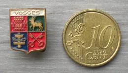 ANCIENNE EPINGLETTE BLASON DES VOSGES      ZZZ   051 - Pin's
