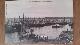 Douarnenez.le Séchage Des Filets.pêcheurs. Édition Villard N °114 - Douarnenez