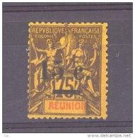 Réunion  :  Yv  54  * - Réunion (1852-1975)