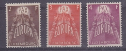 Europa Cept 1957 Luxemburg 3v ** Mnh (original Gum) (32387) - Europa-CEPT