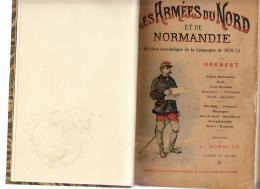 Livre -102-Les-armees-du-nord-et-de-Normandie-Grenest-1897-campagne-de-18 - 1801-1900
